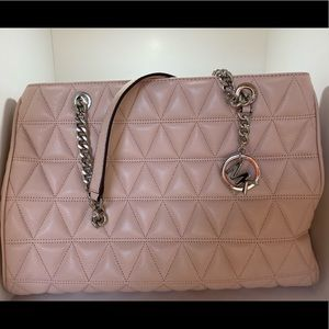 Michael Kors Quilted Lamb Leather Handbag